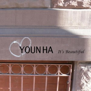 "Album art for Younha's album for ""It's Beautiful"""