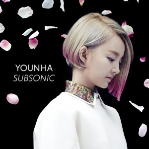 "Album art for Younha's album ""Subsonic"""