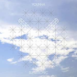 "Album art for Younha's album ""Supersonic"""