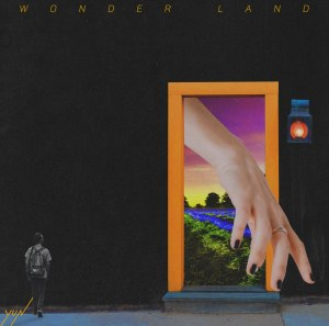 "Album art fo rYun (Lunafly)'s album ""Wonder Land"""