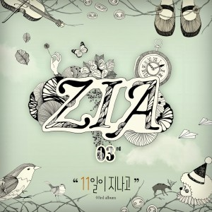 "Album art for ZIA's album ""11 Days Have Passed"""