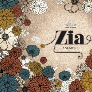 "Album art for ZIA's album ""Anemone"""