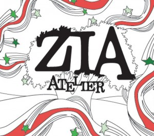 "Album art for ZIA's album ""Atelier"""