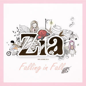 "Album art for ZIA's album ""Falling In Fall"""