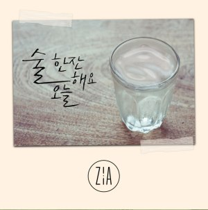 "Album art for Zia's album ""Have A Drink Today"""