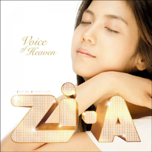 "Album art for ZIA's album ""Voice Of Heaven"""