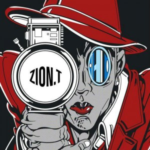 "Album art for Zion.T's album ""Red Light"""