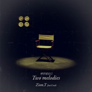 "Album art for Zion.T's album ""Two Melodies"""
