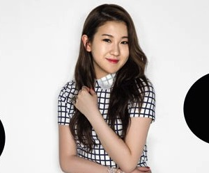 "15&'s Yerin ""Sugar"" promotional picture."