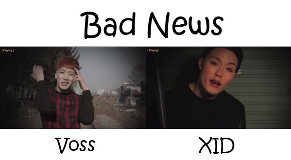 "The members of BASTERD in the ""Bad News"" MV"