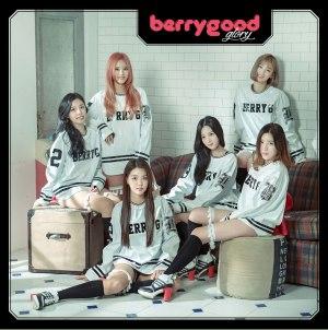 "Album art for Berry Good's album ""Glory"""