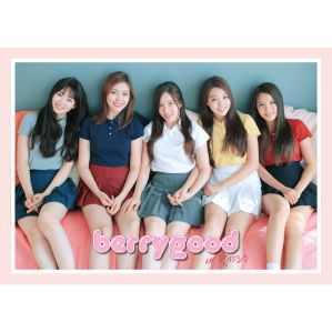"Album art for Berry Good's album ""My First Love"""