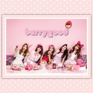 "Album art for Berry Good's album ""Because Of You"""