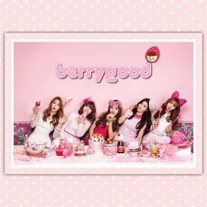 """Album art for Berry Good's album """"Because Of You"""""""