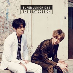 "Album art for Donghae & Eunhyuk (Super Junior)'s album ""The Beat Goes On"""