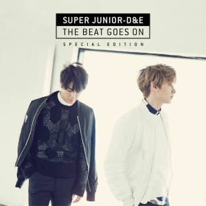 "Album art for Donghae & Eunhyuk (Super Junior)'s album ""The Beat Goes On - Special Edition"""