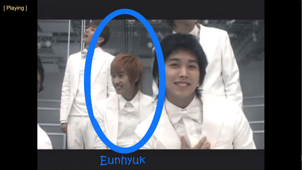 "Eunhyuk in Super Junior's ""Marry U"" MV"