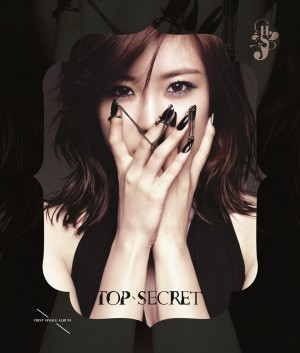 "Album art for Hyo Seong's album ""Top Secret"""