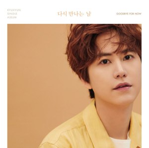 "Album art for Kyuhyun's album ""Goodbye For Now"""