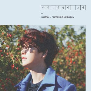 "Album art for Kyuhyun's album ""Once Again Fall"""