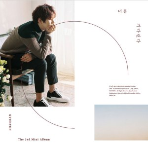 "Album art for Kyuhyun's album ""Waiting, Still"""