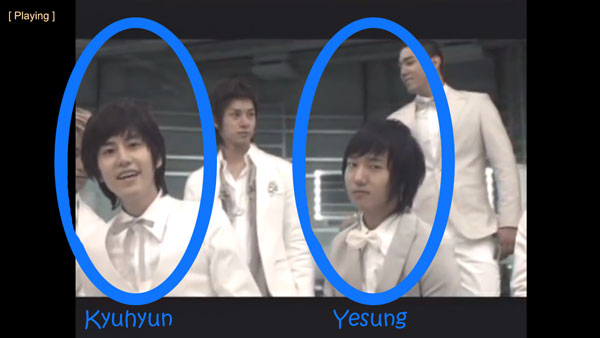 "Kyuhyun and Yesung in Super Junior's ""Marry U"" MV"