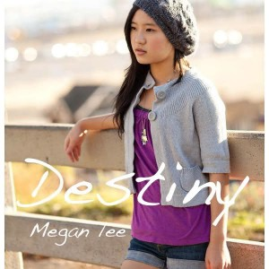 "Album art for Megan Lee's album ""Destiny"""