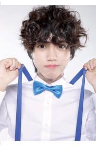 Pure's former member Jeongbin.