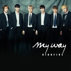 "Album art for Rion Five's album ""My Way"""