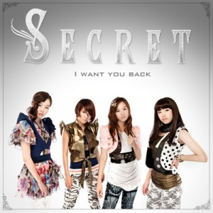 "Album art for Secret's album ""I Want You Back"""