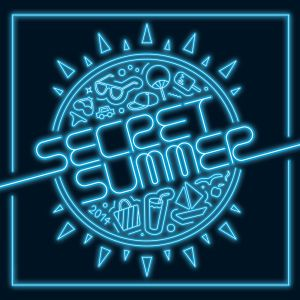 "Album art for Secret's album ""Secret Summer"""