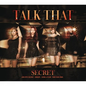 "Album art for Secret's album ""Talk That"""