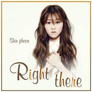 "Album art for Shin Ji Hoon's album ""Right There"""
