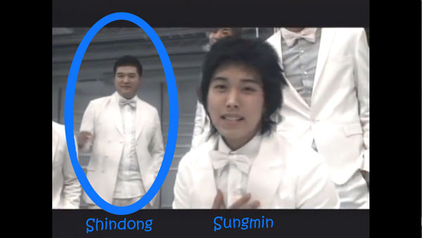 "Shindong and Sungmin in Super Junior's ""Marry U"" MV"