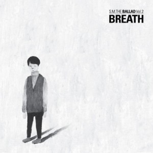 "Album art for S.M. The Ballad's album ""Vol. 2 - Breath"""