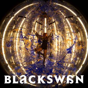 "Album art for Solbi (Kwon Ji An)'s album ""Blackswan"""