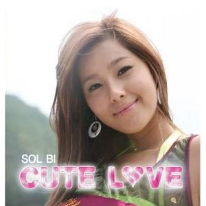 "Album art for Solbi's album ""Cute Love"""