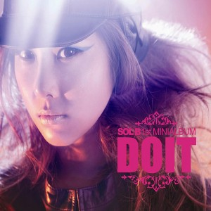 "Album art for Solbi's album ""Do It"""