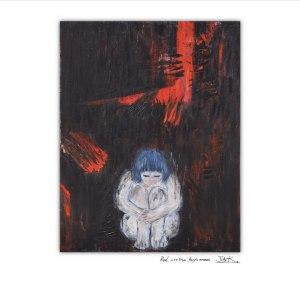 "Album art for Solbi's album ""Hyperism Red"""