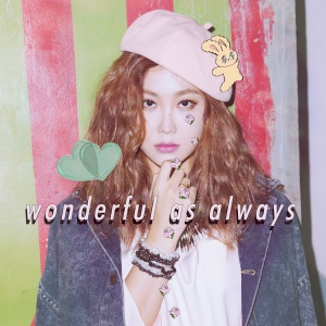 "Album art for Kwon Ji An (Solbi)'s album ""Wonderful As Always"""