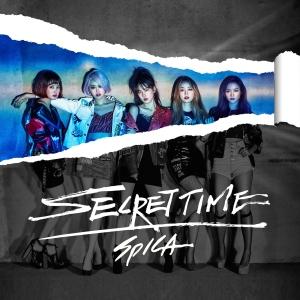 "Album art for Spica's album ""Secret Time"""