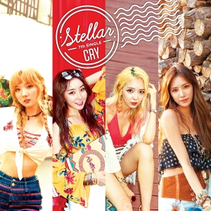 "Album art for Stellar's album ""Cry"""