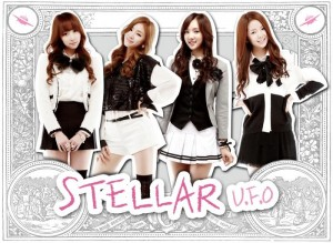 "Album art for Stellar's album ""U.F.O"""
