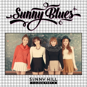 "Album at for Sunny Hill's album ""1st Album Part B Sunny Blues"""
