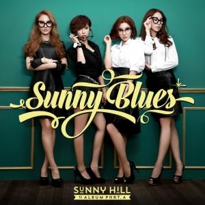 """Album art for Sunny Hill's album """"1st Album Pt 1: Sunny Blues"""""""
