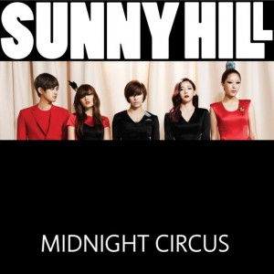 "Album art for Sunny Hill's album ""Midnight Circus"""