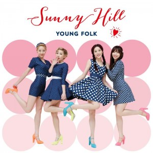 "Album art for Sunny Hill's album ""Young Folk"""