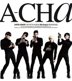 "Album art for Super Junior's album ""A-Cha"""