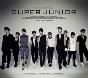 "Album art for Super Junior's album ""Bonamana: Repackage"""