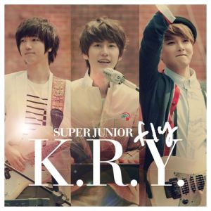 "Album art for Super Junior KRY's album ""FLY"""